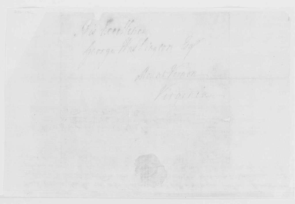 George Washington Papers, Series 4, General Correspondence: William Gordon to George Washington, September 26, 1785