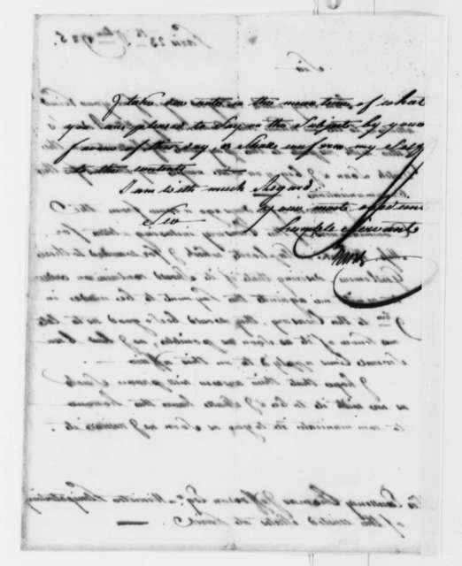 Isaac Barre to Thomas Jefferson, September 23, 1785