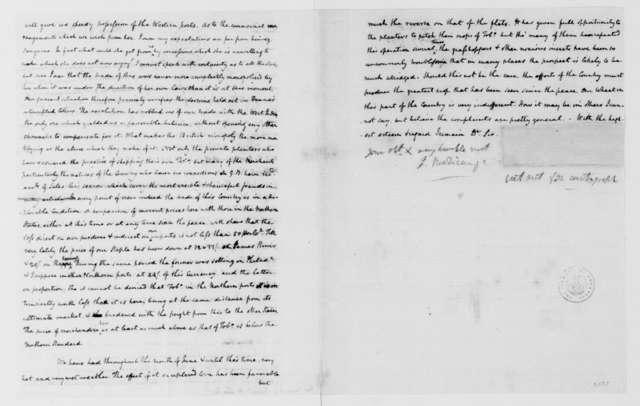 James Madison to Richard Henry Lee, July 7, 1785.