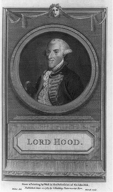 Lord Hood - from a painting by West in the possession of Sir John Dick / Miller del. ; Birrell sculp.