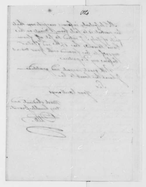 Louis Guillaume Otto to Thomas Jefferson, June 1, 1785