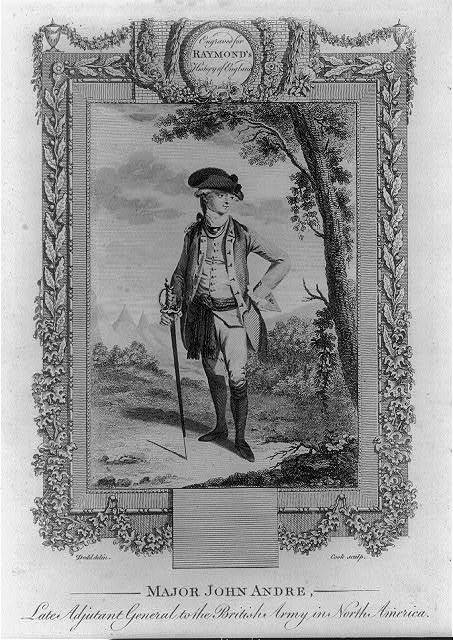 Major John Andre, late Adjutant General of the British army in North America / Dodd delin. ; Cook sculp.