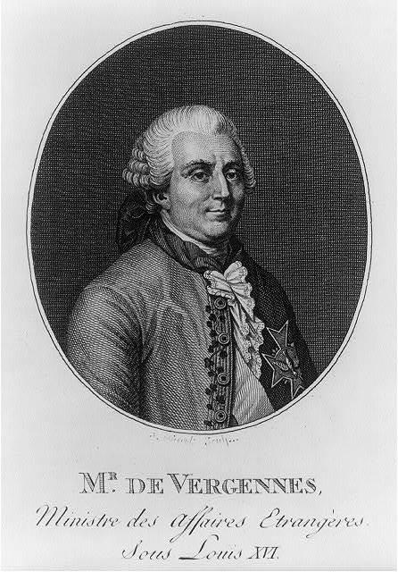 Mr. De Vergennes, ministre des affaires etrangères sous Louis XVI / Bovinet sculp.