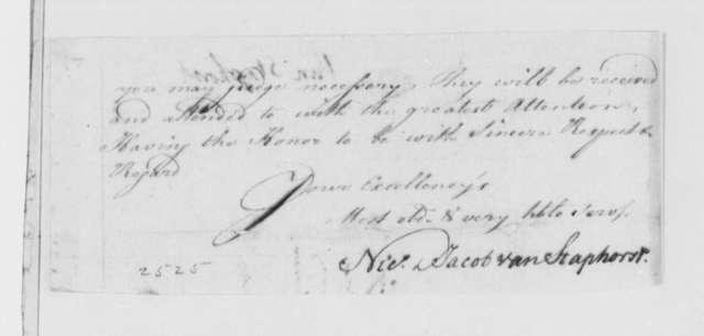 Nicholas and Jacob van Staphorst to Thomas Jefferson, September 19, 1785, Geyer, de la Lande, and Fynje & Company