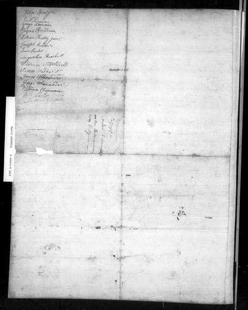 November 2, 1785, Culpeper, Against assessment bill.