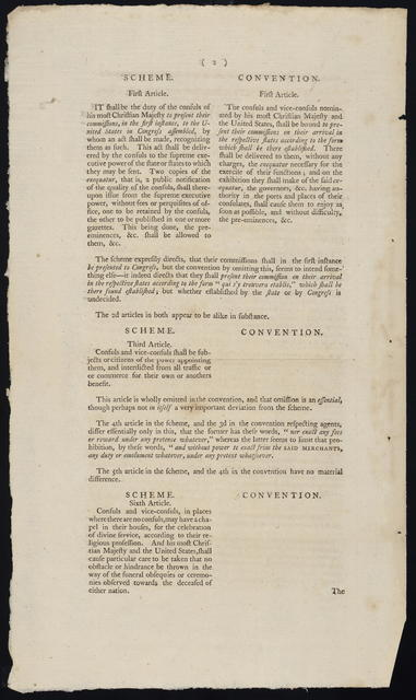 Office for Foreign Affairs, July 4, 1785 : The secretary of the United States for the Department of Foreign Affairs, to whom was referred a copy of the convention respecting French and American consuls, reports ...