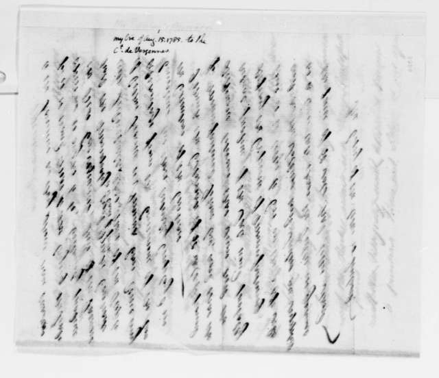 Thomas Barclay to Thomas Jefferson, August 15, 1785, Memorandum on Tobacco Trade; Tax Calculations