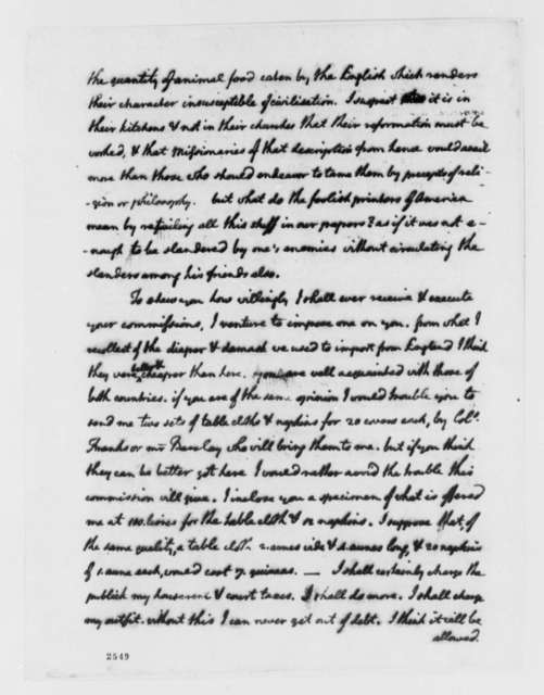 Thomas Jefferson to Abigail Smith Adams, September 25, 1785