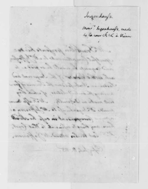 Thomas Jefferson to Isaac Barre, July 11, 1785