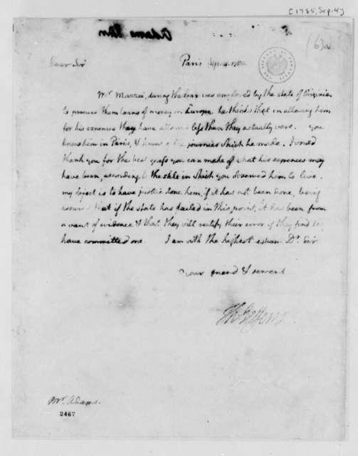 Thomas Jefferson to John Adams, September 4, 1785