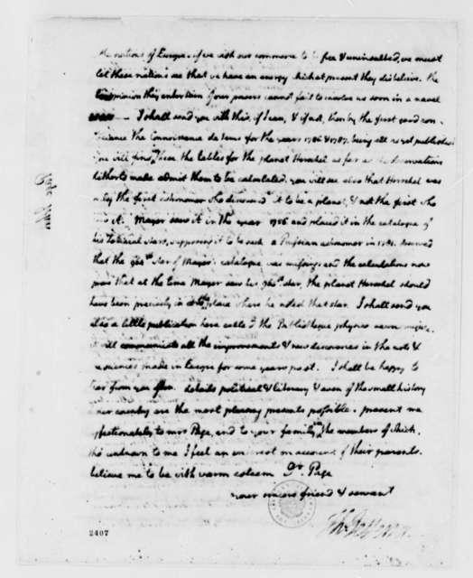 Thomas Jefferson to John Page, August 20, 1785