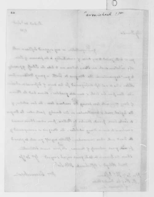 William Carmichael to Thomas Jefferson, September 30, 1785