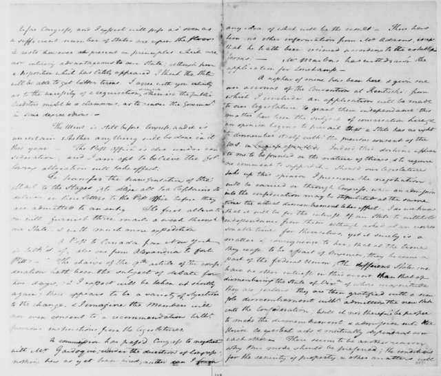 William Grayson to James Madison, August 21, 1785.