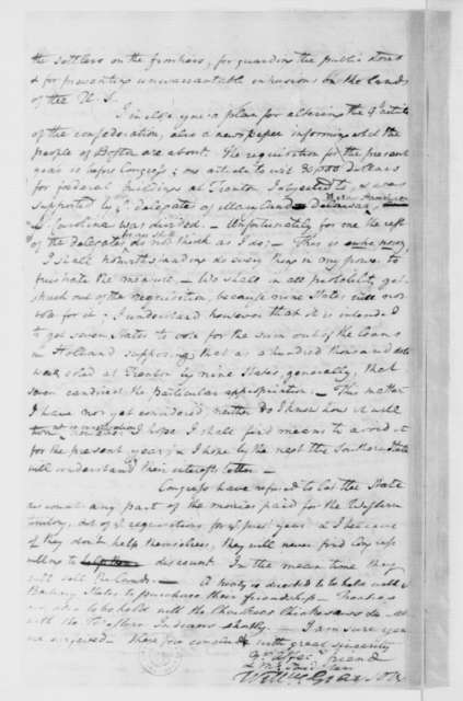 William Grayson to James Madison, May 1, 1785.