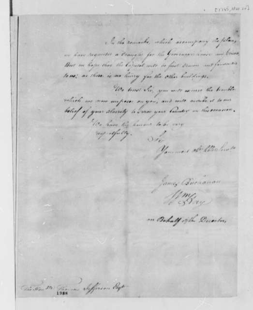 William Hay and James Buchanan to Thomas Jefferson, March 20, 1785