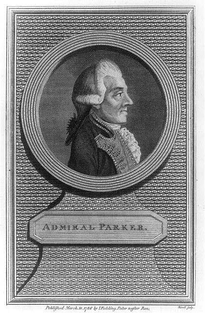 Admiral Parker / Birrell sculp.