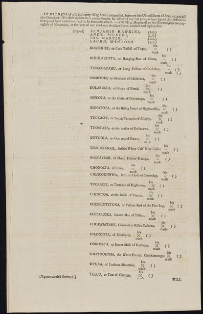 Articles of a treaty, concluded at the mouth of the Great Miami, on the north-western bank of the Ohio, the thirty-first of January, one thousand seven hundred and eighty-six, between the commissioners plenipotentiary of the United States of America, of the one part, and the chiefs and warriors of the Shawanoe Nation of the other part.