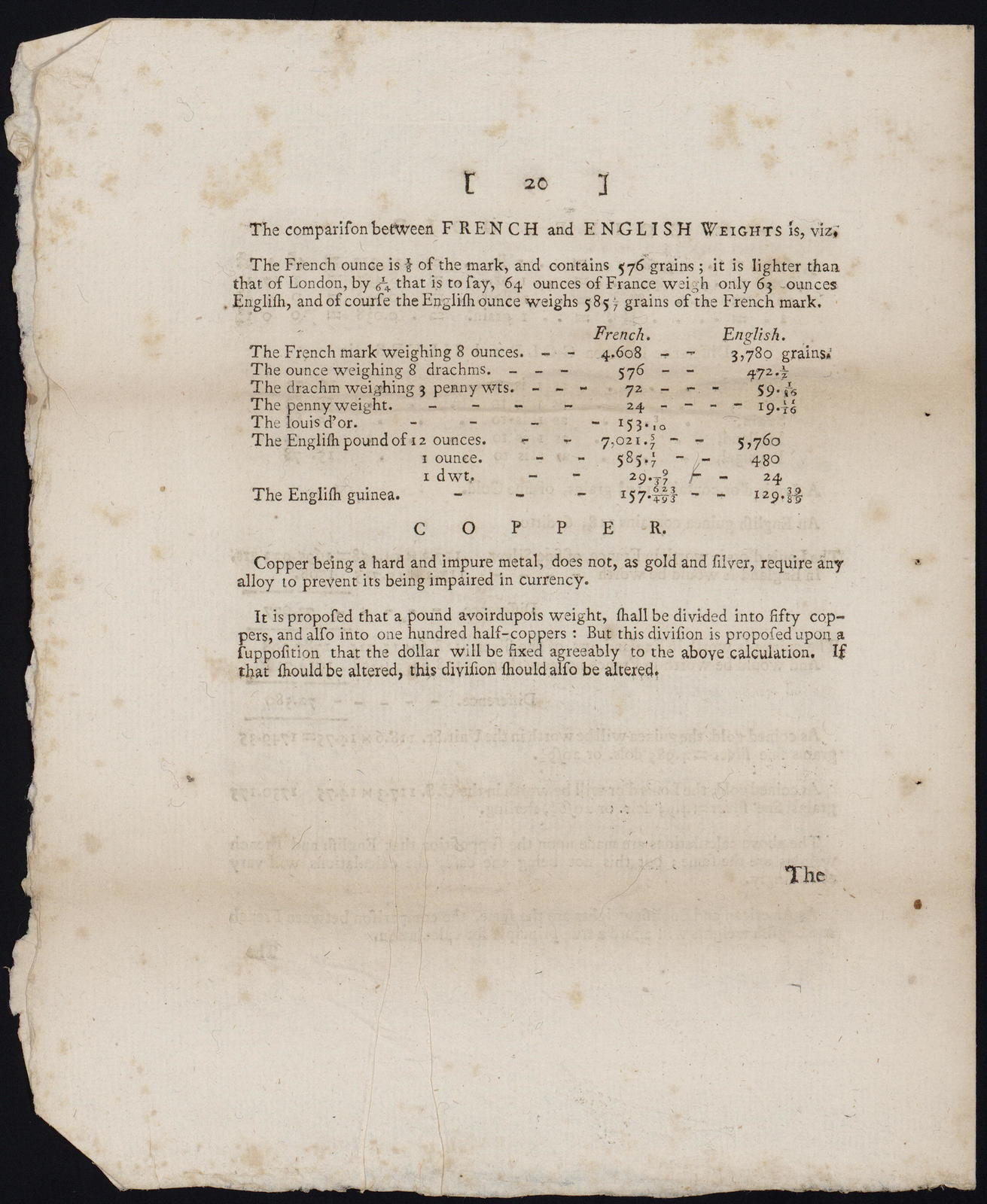 Board of Treasury, April 8, 1786 : Sir, We do ourselves the honor of enclosing the report of this board upon the several references of Congress, relative to the establishment of a mint for the United States of America. ...