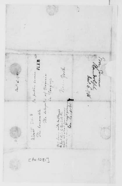 Edmund Randolph to Virginia Congressional Delegates, December 6, 1786.