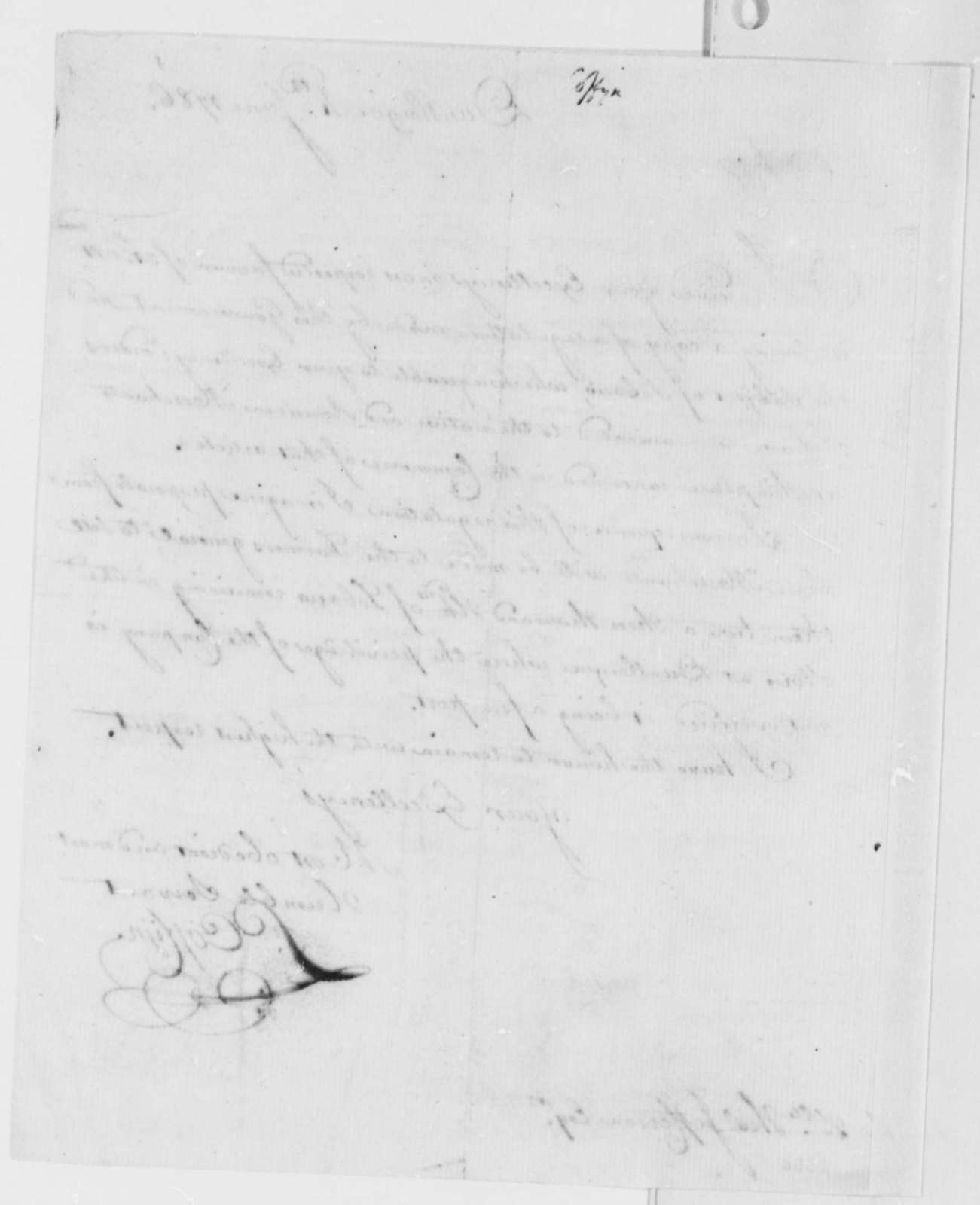 Francis Coffyn to Thomas Jefferson, June 4, 1786, Tobacco Trade Regulations