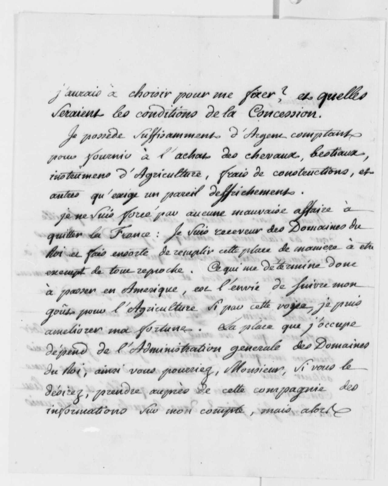 Gallimard to Thomas Jefferson, July 2, 1786, in French