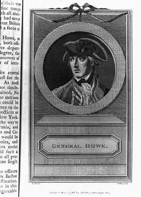 General Howe / Dodd del. ; Goldar sculp.