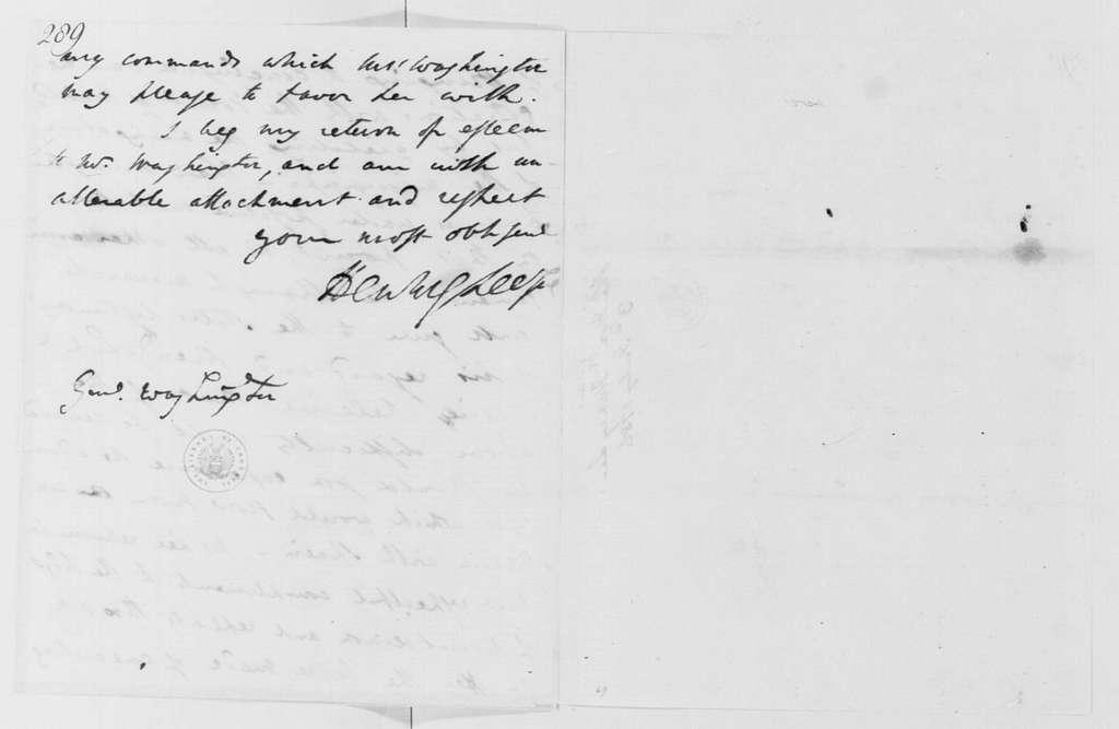George Washington Papers, Series 4, General Correspondence: Henry Lee to George Washington, July 3, 1786