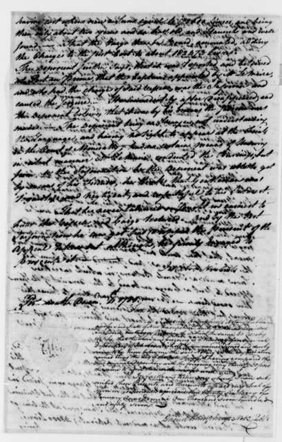 Ichabod Nichols, December 4, 1786, Deposition on Transfer of the Neptune (ship)