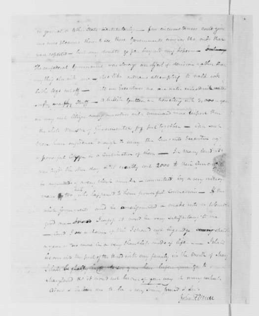 John Francis Mercer to James Madison, March 28, 1786.