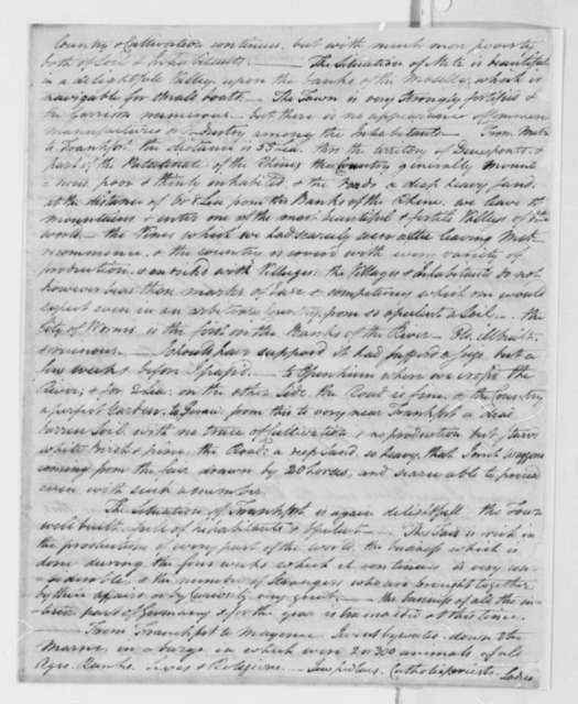 John Trumbull to Thomas Jefferson, October 9, 1786, with Note from Maria Hadfield Cosway in Italian