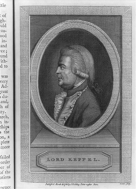 Lord Keppel / Golder sculp.