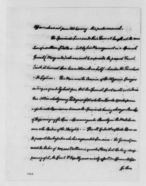 Paul R. Randall to Father of Paul R. Randall, April 2, 1786, Extract