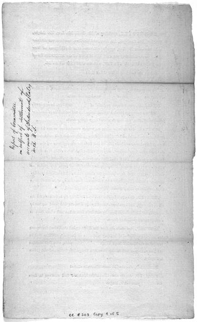 The committee, consisting of Mr. Smith, Mr. Long, Mr. Johnson, Mr. Bull, Mr. Carrington, Mr. Henry, and Mr. Kean, to whom was committed a motion of Mr. King, together with a motion of the delegates of Virginia, on the subject of the settlement of the accounts of the individual states, with the United States. Submit the following resolves ...