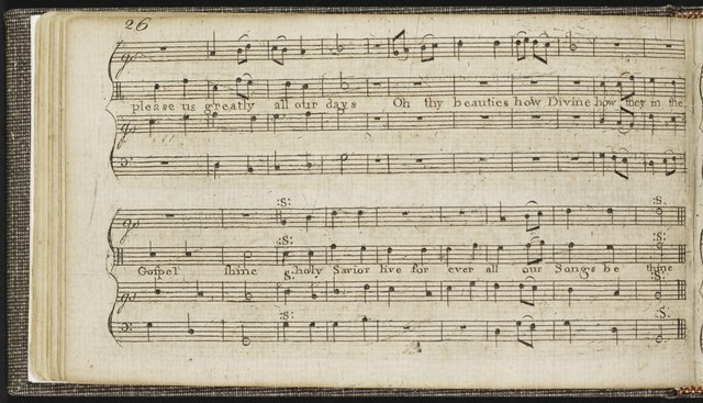 The  Suffolk harmony consisting of psalm tunes, fuges, and anthems