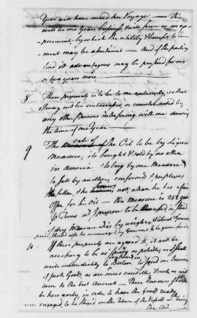Thomas Boylston to Thomas Jefferson, February 25, 1786