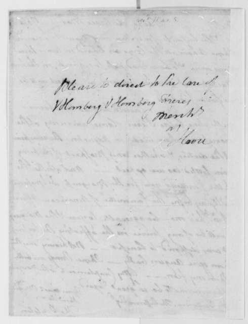 Thomas Boylston to Thomas Jefferson, March 1, 1786