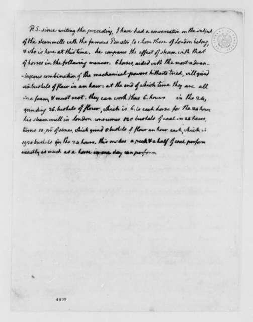 Thomas Jefferson to Charles Thomson, December 17, 1786