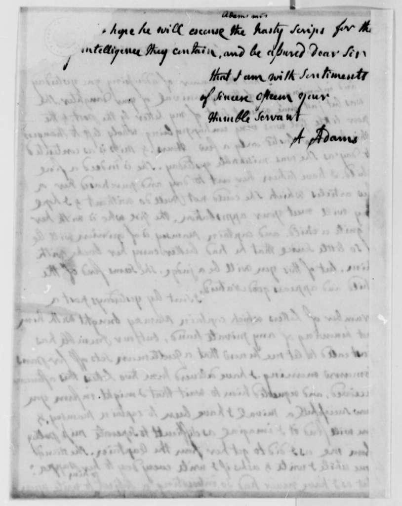 Abigail Smith Adams to Thomas Jefferson, June 27, 1787