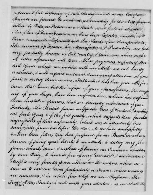 Brailsford & Morris J. J. Berard & Company, October 1787, Extract