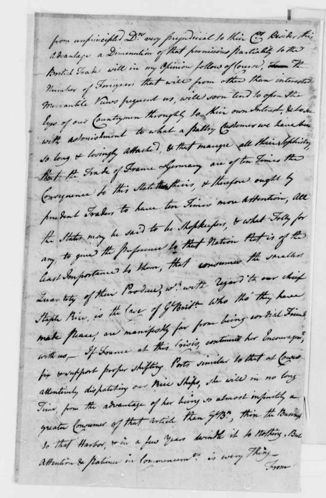 Christopher Gadsden to Thomas Jefferson, October 29, 1787