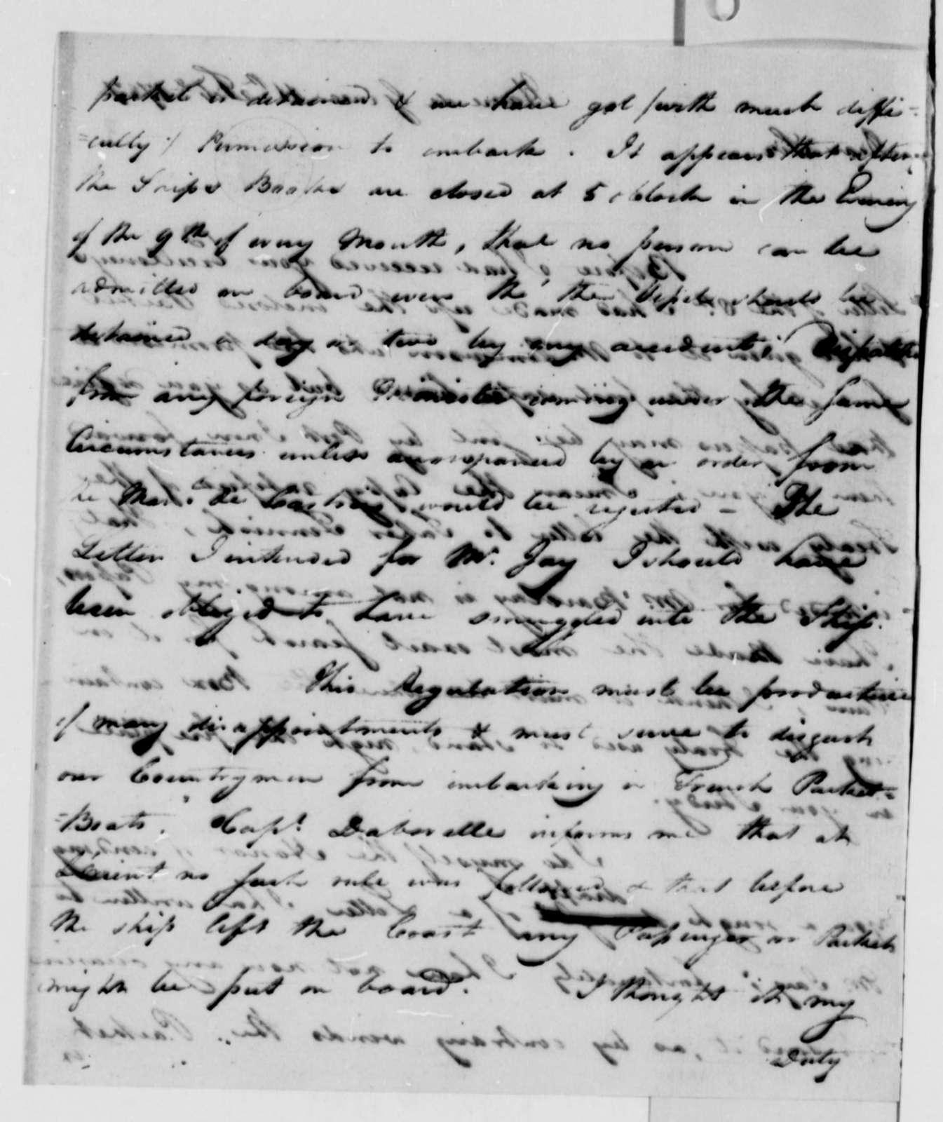 David S. Franks to Thomas Jefferson, February 11, 1787