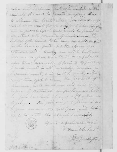 Edward Carrington to James Madison, June 13, 1787.