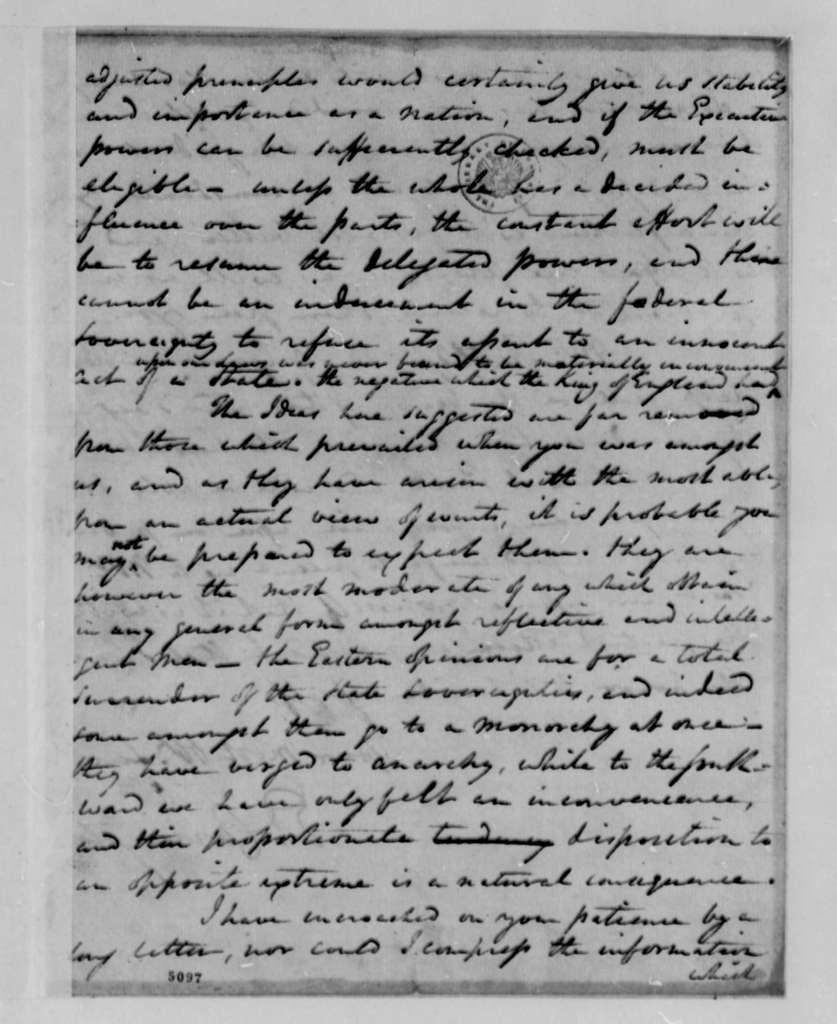 Edward Carrington to Thomas Jefferson, June 9, 1787