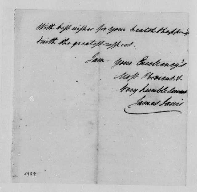 James Jarvis to Thomas Jefferson, December 11, 1787