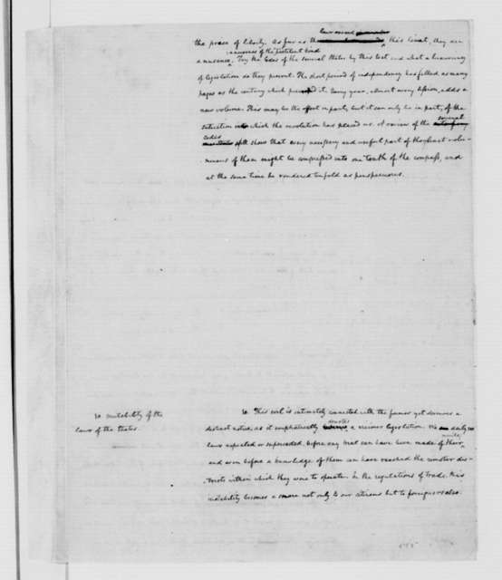 James Madison, May 7, 1787. Vices of the Political System of the U. States.