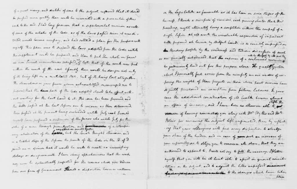 James Madison to Edmund Pendleton, January 9, 1787.