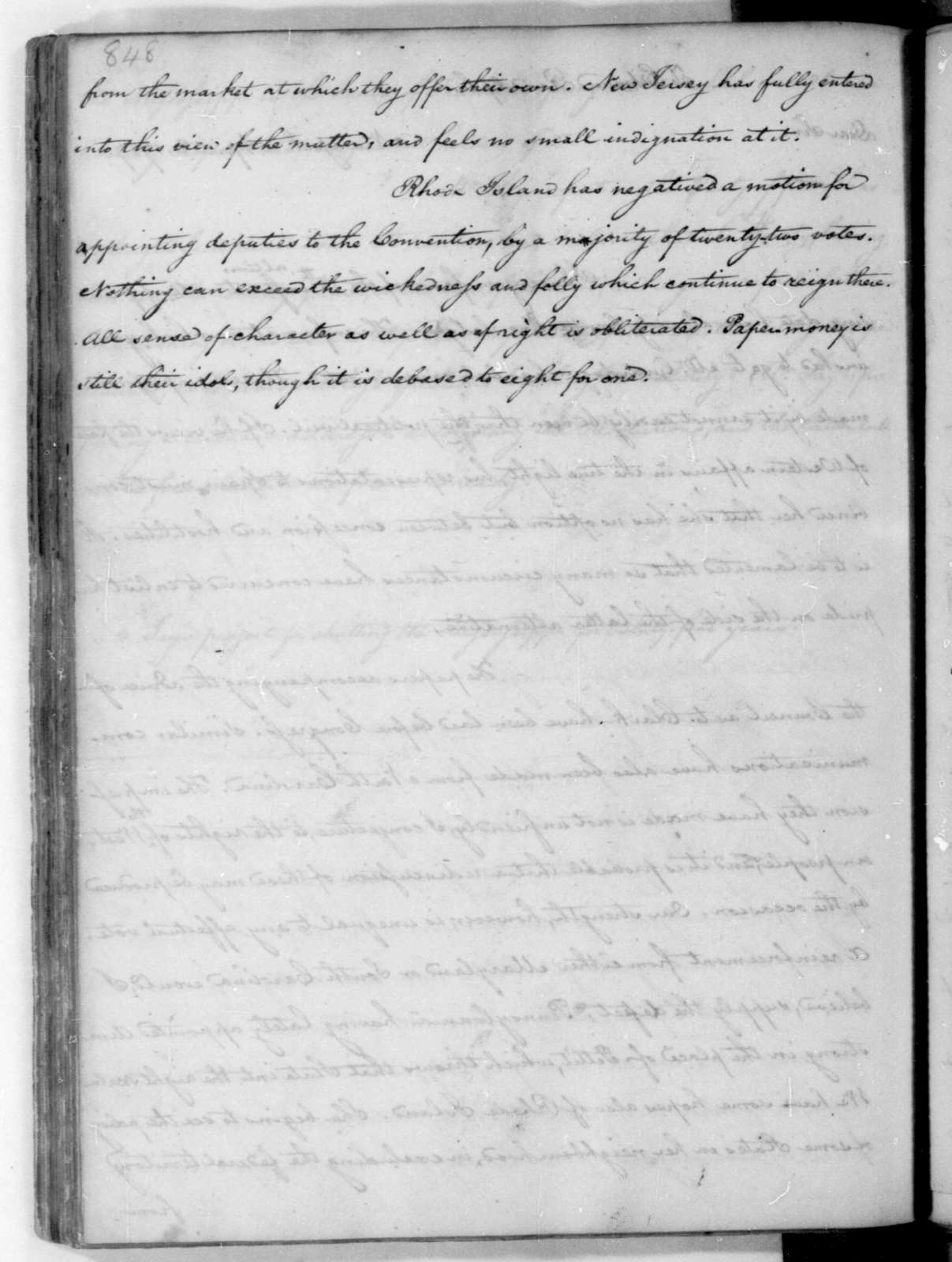 James Madison to Edmund Randolph, April 2, 1787.