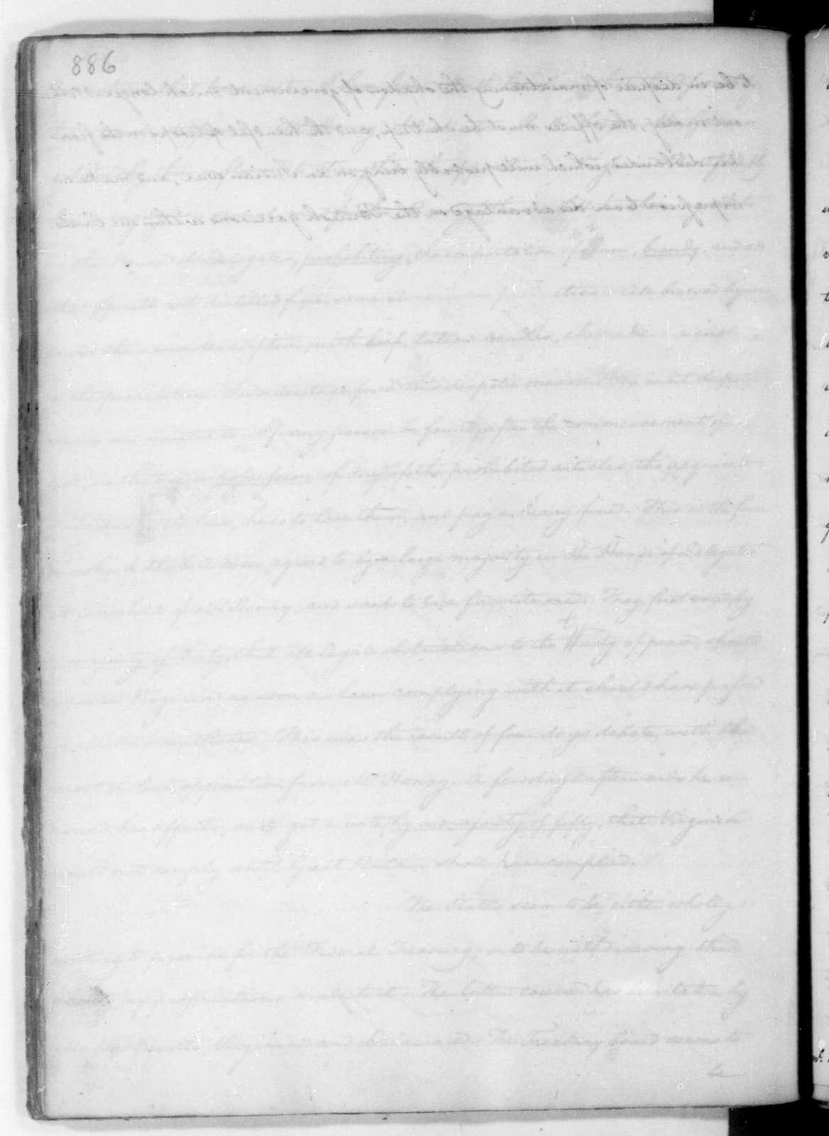 James Madison to Thomas Jefferson, December 20, 1787.