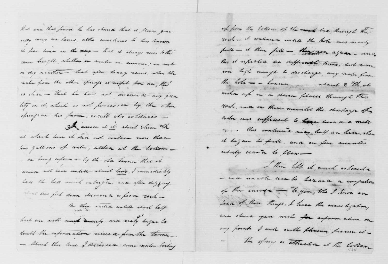 John Dawson to James Madison, August 5, 1787.