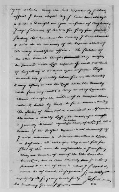 John Sullivan to Thomas Jefferson, April 16, 1787